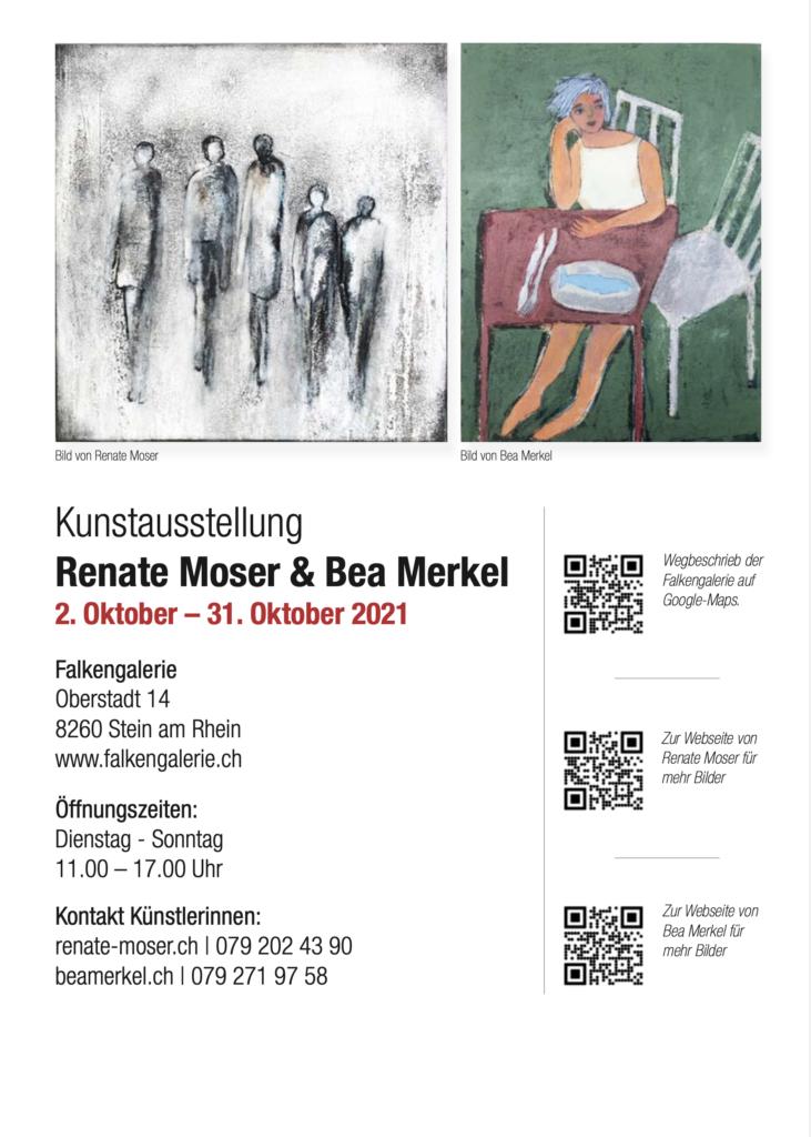 Ausstellung Stein am Rhein Oktober 2021